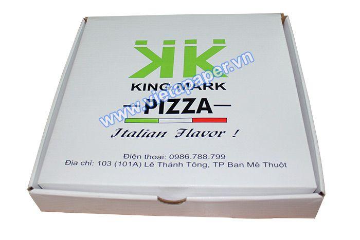 In hộp Pizza KING MARK