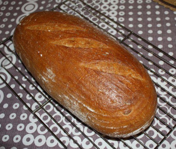 1345. hranický chléb od lebahu - recept pro domácí pekárnu