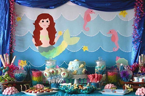 17 best images about beach theme on pinterest clip art for Ariel decoration ideas