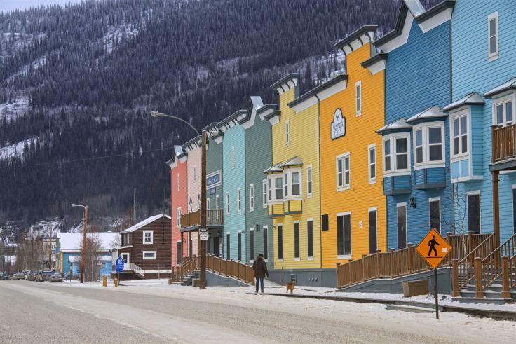 La ville de la ruée vers l'or / the Gold Rush town | Dawson City, Yukon, Canada
