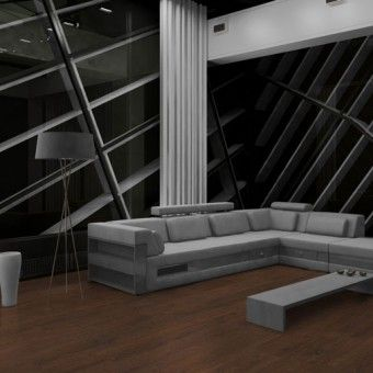 Finfloor KronoClik Laminate Flooring - Colour Bourbon Oak