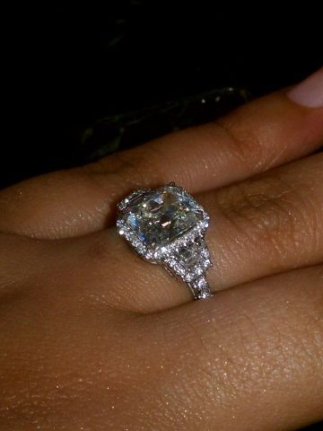 Please Post Pictures Of Rectangular Radiant Cushion Cut W