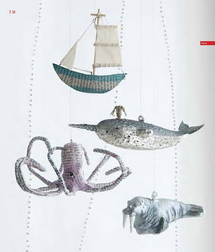 Nautical Mobile - DYI...but that seems like too much work.