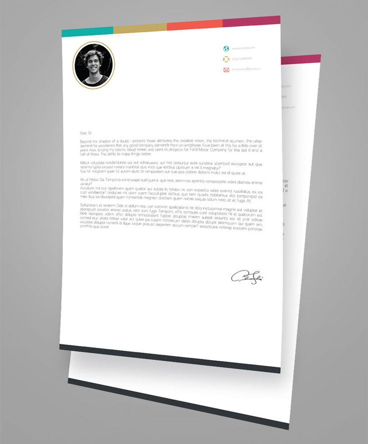 Simple Cover Letter Simplecoverletter Best Resume Psd Images On