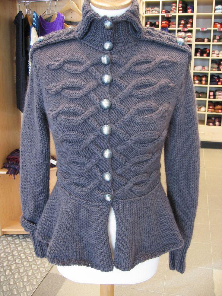 17 Best ideas about Knit Jacket on Pinterest