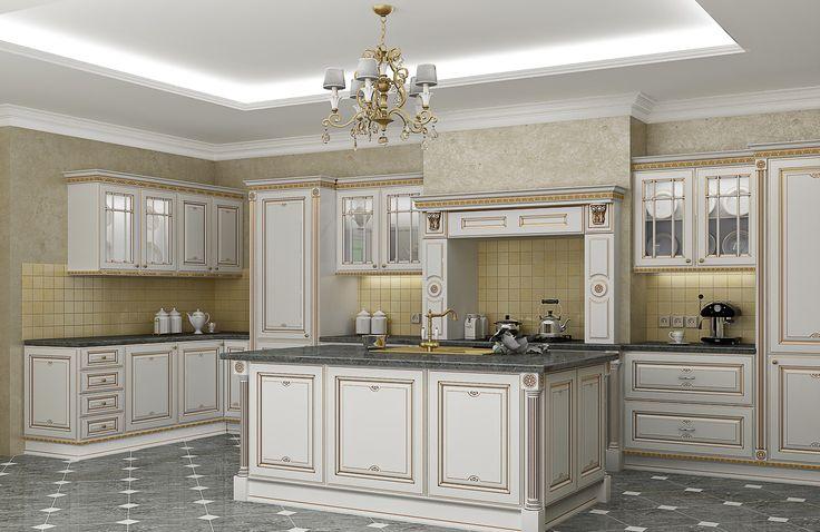 #Кухня в классическом стиле