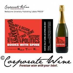A Customised Label we created for a book publisher, as gifts to their customers