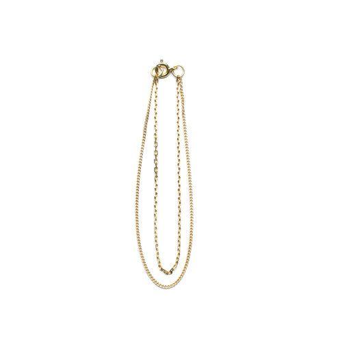 Vibe Harsløf. Style: Anna double chain bracelet gold Foto: Kasper Buchardt Thye