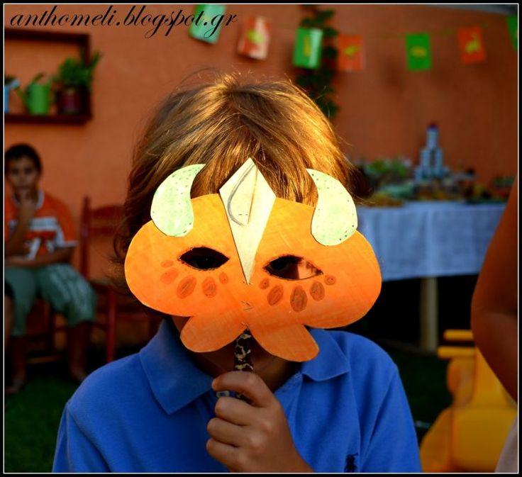 Παιχνίδια για παιδικό πάρτυ και άλλες ιδέες (Β΄μέρος του πάρτυ με Δεινόσαυρους) - Anthomeli