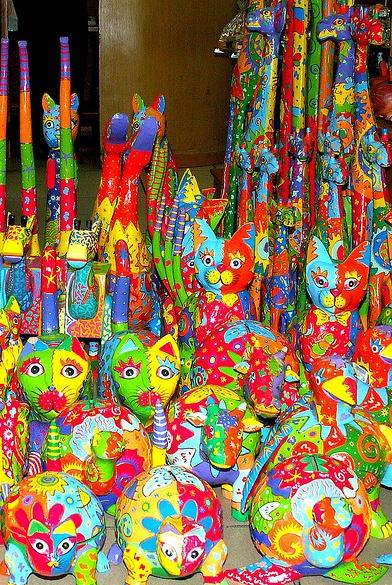 Bali Colorful Souvenirs