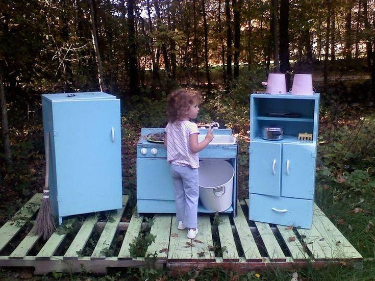 jeux de plein air -petite-cuisine-extérieure