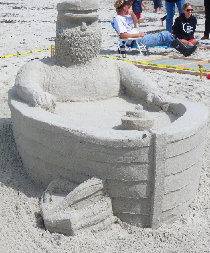 Carmel Beach Sand Castle Contest 2011