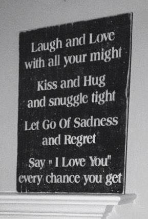 I need to make this my motto....sure could b happier