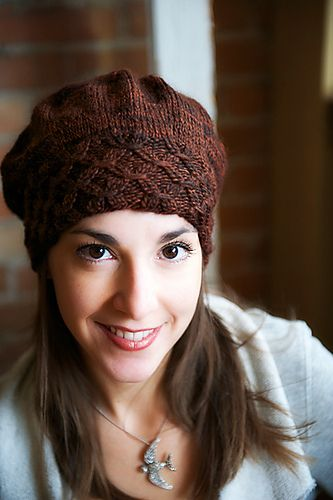 Smocked Slouch hat