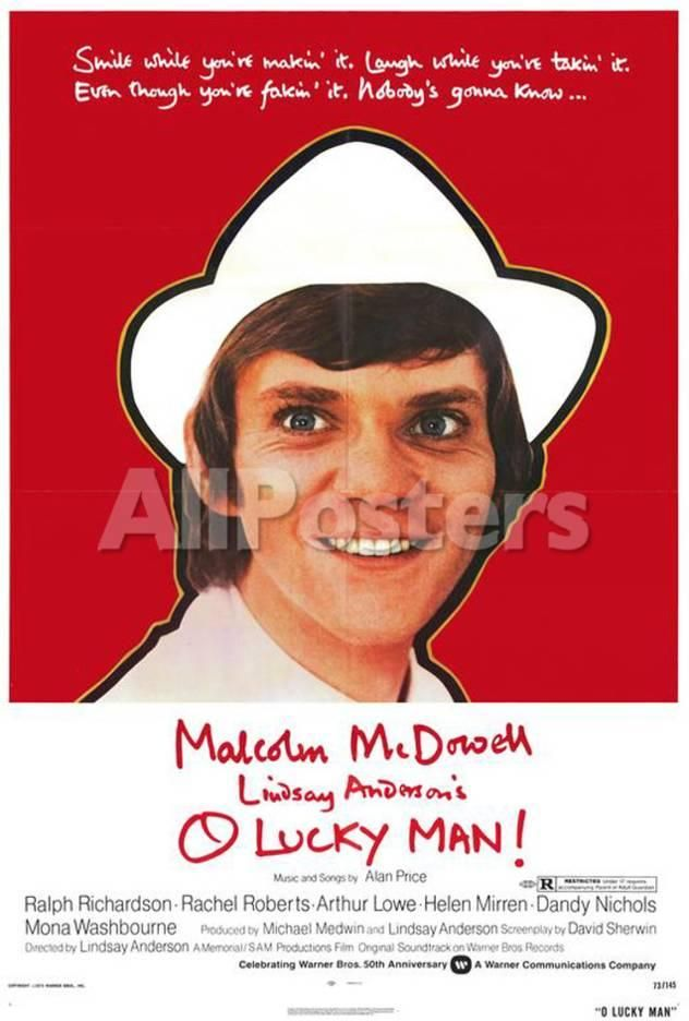 O Lucky Man! Movies Poster - 69 x 102 cm