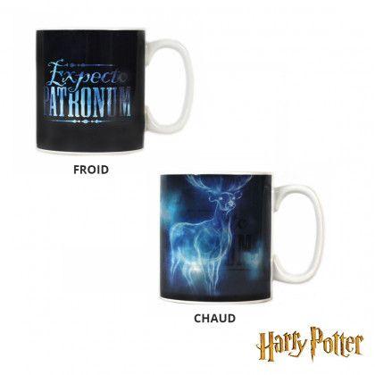 Mug Thermoréactif Harry Potter Expecto Patronum