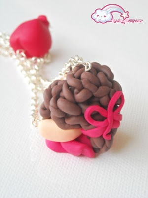 Love is in the Air - Collana My Love #kawaii #cute #sweet #handmade #jewels #love