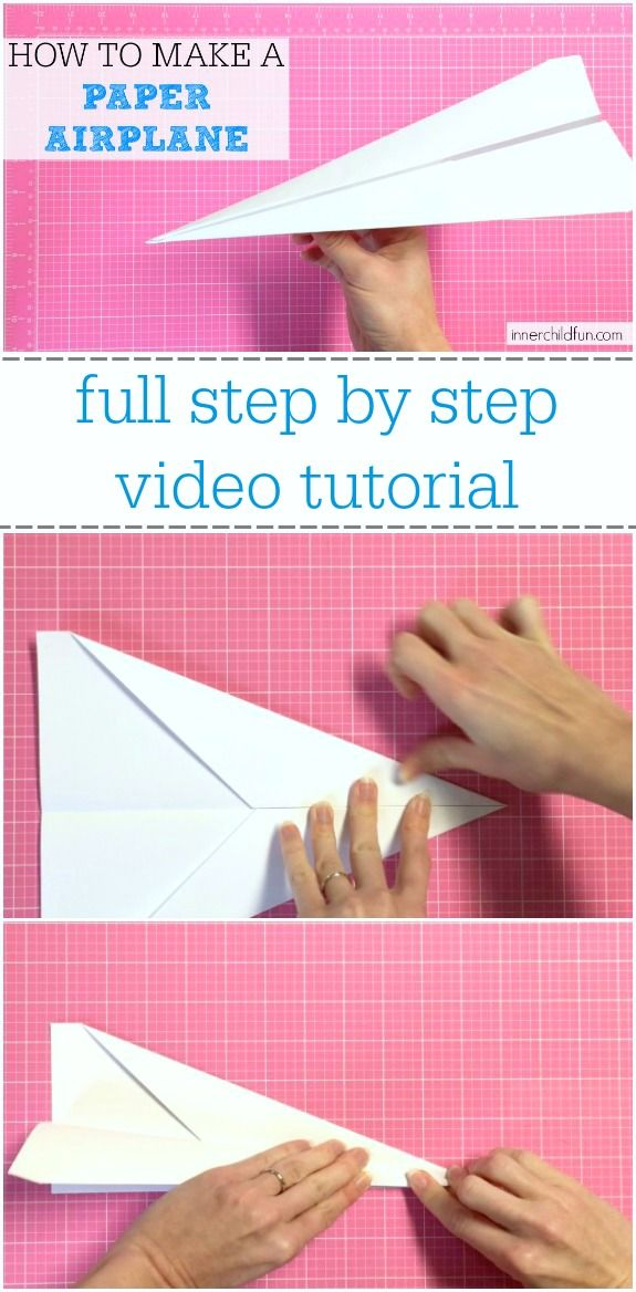 Do you remember making paper airplanes when you were a kid? Here is a step by step tutorial for how to make a paper airplane (dart style) with a video to walk you thru the process. It is one of the fastest and simplest paper airplane versions you can make. This is a classic childhood …