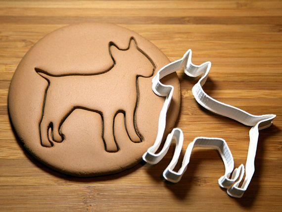 Bullterrier-Ausstecher kundenspezifisch von CookieParlor auf Etsy