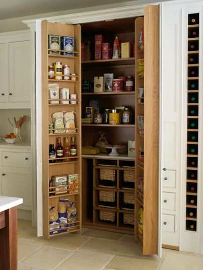 Smallbone of Devizes | Bespoke Kitchen Storage Designs | Kitchen Storage Solutions shallow walkin larder