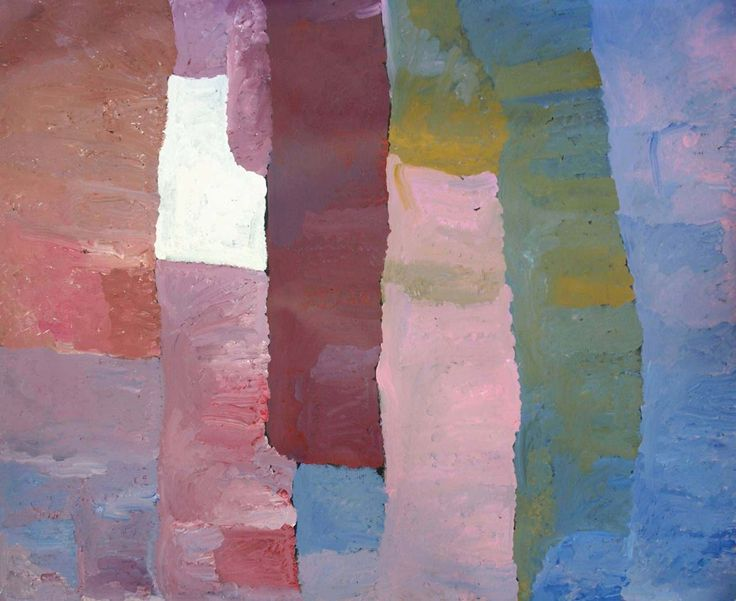 Kudditji Kngwarreye Ankerre, Emu Dreaming at Alhalkere, acrylic on linen, 242 x 198 cm