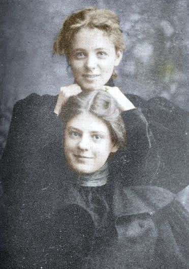 Maude Adams (top) and Ethel Barrymore (bottom). You can look at their faces and their personalities exude from them...