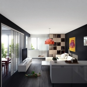 Interior design and 3D Visualization for the project Tarjanne Dubravka www.yithome.sk