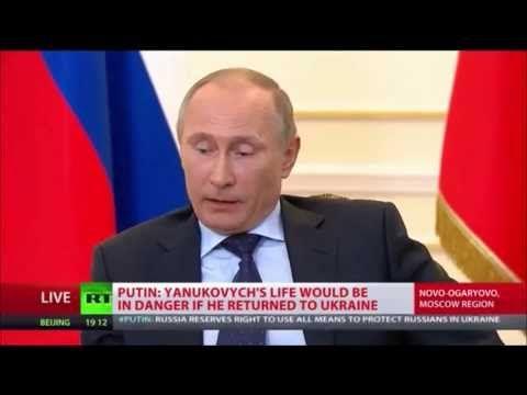 ▶ Putin: USA führen mit Menschen in der Ukraine Experimente durch wie mit Laborratten - YouTube