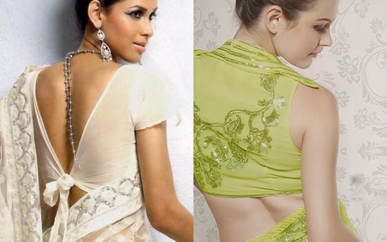 Modern Style Of  Saree Blouse Back Design 2015by  Natasha Couture (7)