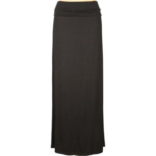 FULL TILT Fold Over Waist Womens Maxi Skirt $22.99 ... Kinda want this!