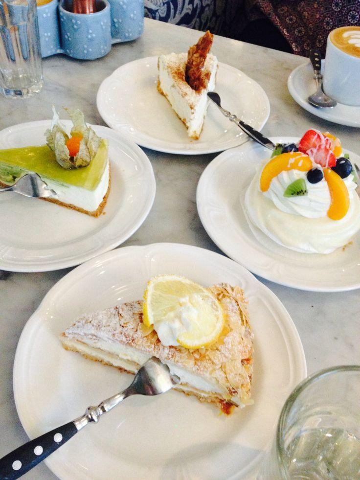 Cakes in Tallinn.