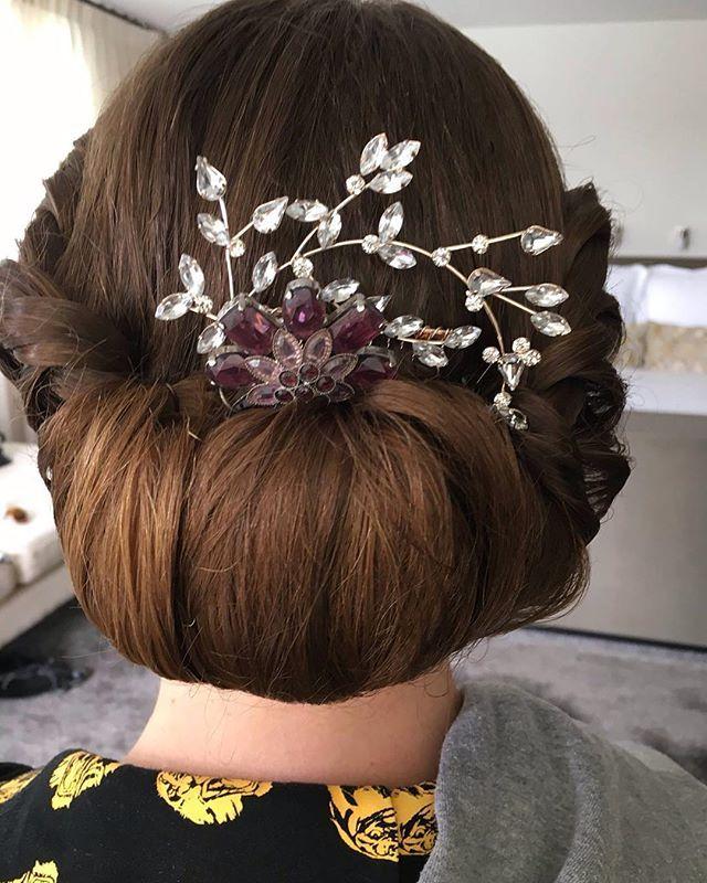Bridal #upstyle done by Isabelle, a long time member of the Phd Team! Inspiration as we head into formal season! #hairbyphd #updo #formal #formalseason #social #schoolsocial #parramatta #carlingford #northrocks #westpennanthills #castlehill #hornsby #westernsydney #westernsuburbs #hair #hairdresser #longhair #chignon #hairtuck #upstyles #wedding #weddinghair #weddingstyle
