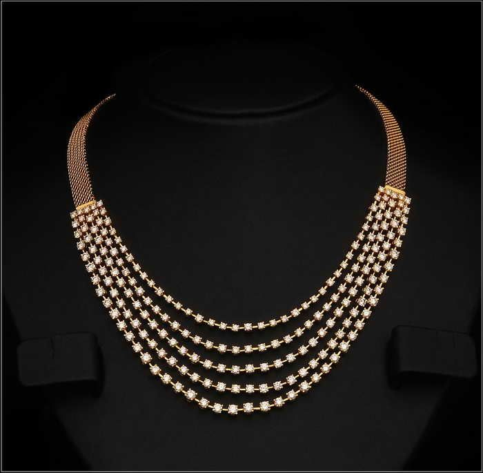 Uncut Diamond Necklace Designs For Wedding : Uncut Diamond Necklace Designs For Wedding
