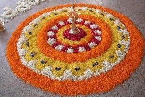 Kerala Flower Rangoli