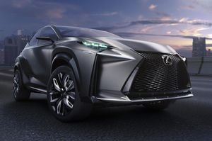 Lexus LF-NX Concept Car at the Tokyo Motor Show 2013