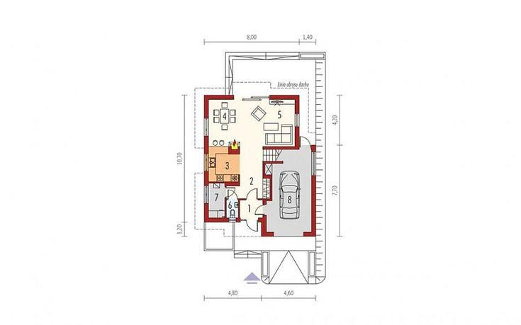 case cu mansarda si balcoane Houses with attic and balconies 4