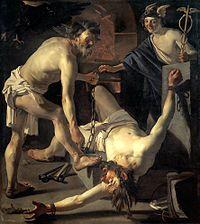 Caravaggism http://en.wikipedia.org/wiki/Utrecht_Caravaggism
