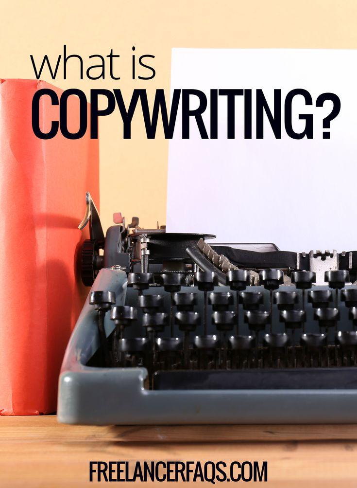Defining copywriting