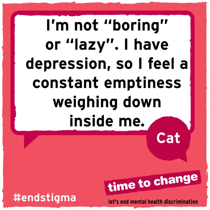 Cat writes about the judgement she faces from friends and family as a result of her depression and anxiety, and why we need to #endstigma