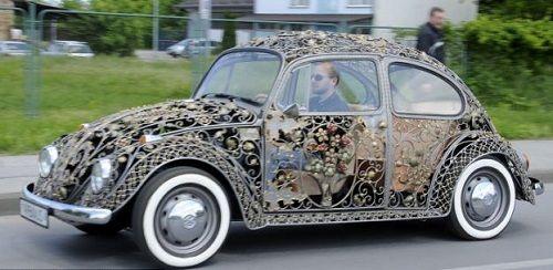 Роскошные кованые автомобили из мастерской Vrbanus | Решетки на окна. Купить металлические решетки на окна в Киеве.
