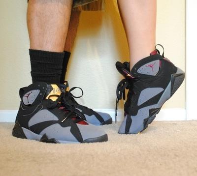 uk availability 87b62 d3970 Air Jordan VII Bordeaux   Couples   Sneakers Love   Shoes, Matching shoes  for couples, Jordans