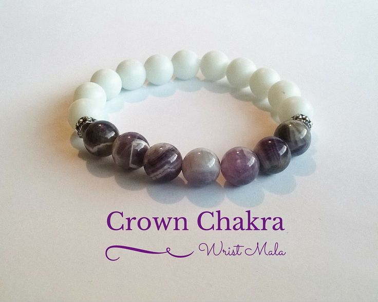 Crown Chakra bracelet for women Feel the comforting ...