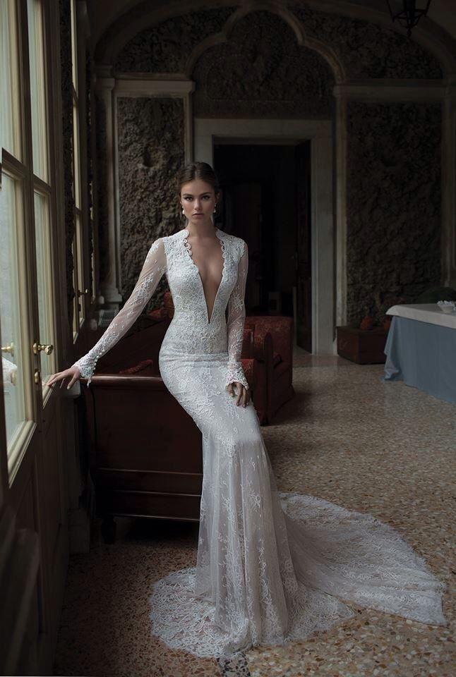 Cute Lace sleeve wedding dress