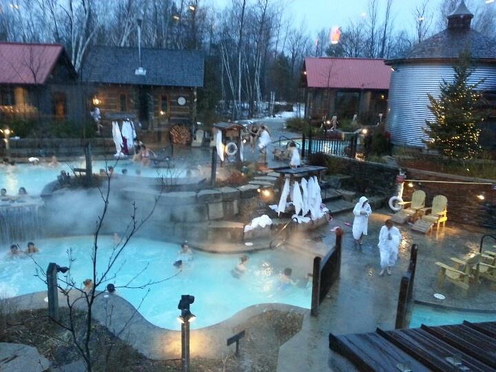 Le Scandinavian Spa Blue Mountain Collingwood Ontario