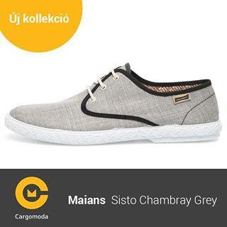 Maians Sisto Chambray Gray - Megérkezett az új tavaszi-nyári Maians kollekció! www.cargomoda.hu #cargomoda #maians #madeinspain #handcrafted #springsummercollection #spring #summer #mik #instahun #ikozosseg #budapest #hungary #divat #fashion #shoes #fashi