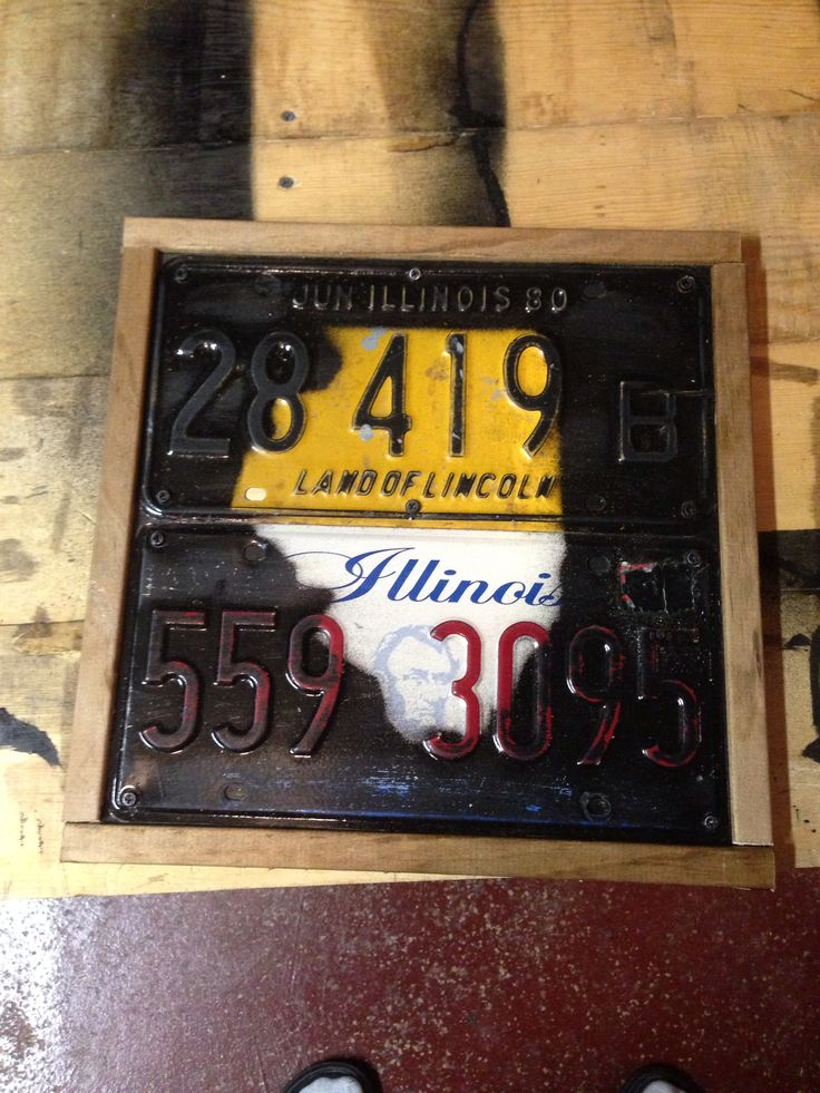20 Best Images About License Plate Projects On Pinterest My Dad Vintage And Clock
