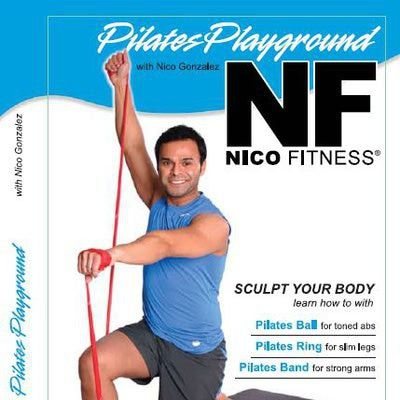 Readers Pick Their 6 Favorite Pilates DVDs of 2011: Finalist: Pilates Playground - Nico Gonzales