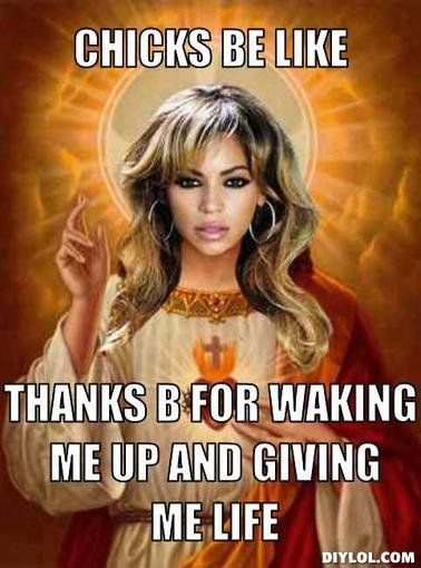 10 Bad-Ass Beyoncé Memes That'll Give You Life