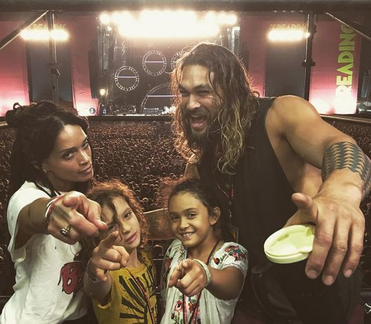 Eighties goddess Lisa Bonet found herself powerless to resist the smile. She married Momoa and had two kids with him. (Photo: Instagram)