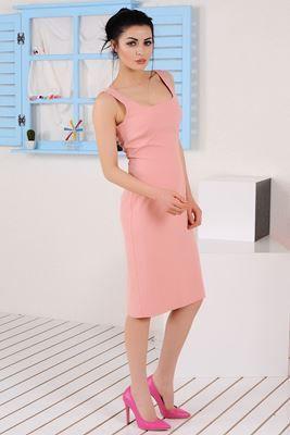 Mezuniyet ve Balo Elbise Modelleri, En Trend Düğün Nişan Abiye ve Elbiseleri En İyi Fiyatlarla! Detayları Göster Askılı Pudra Elbise
